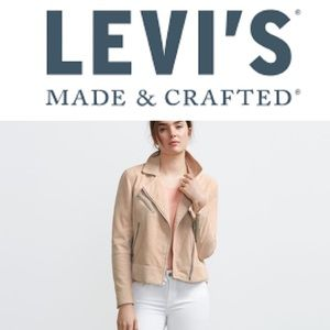 MADE IN ITALY - Levi's Genuine Suede Moto Jacket
